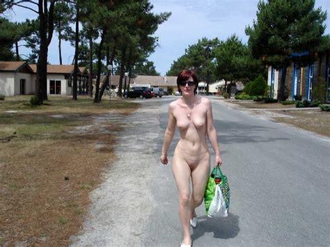 Naked In Public Girl Walking Outside Naked
