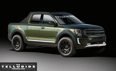 kia telluride pickup truck  considered