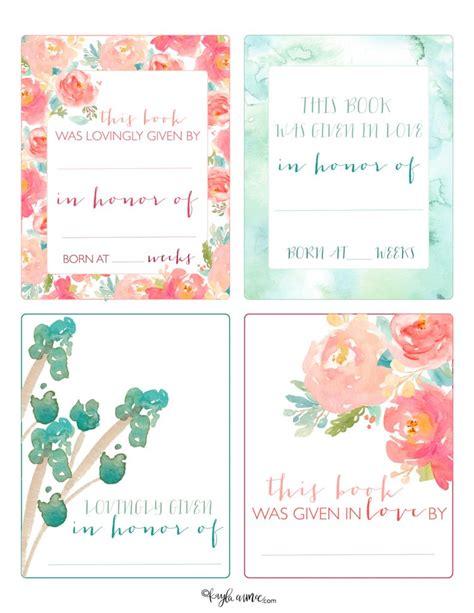 Free Printable Bookplates