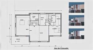 notre maison en bois les plans With plan maison avec jardin interieur 9 chambre etudiant dans le jardin