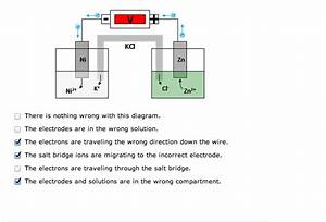 Solved  Determine The Errors  If Any  With Each Galvanic C