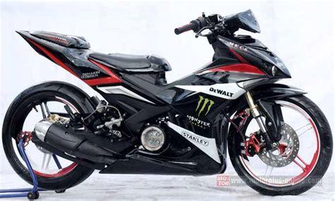 Mx King Modif by 7 Kumpulan Konsep Modifikasi Yamaha Mx King 150 Terbaru
