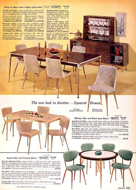 Sears Kitchen Furniture by Sears 1960 Fall Catalog In 2019 Kitchsy Kitchen