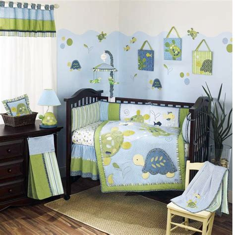 Turtle Bed Set by Baby Bedding Turtle Reef Baby Crib Bedding Set By Cocalo