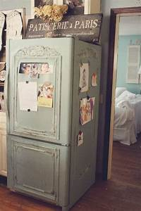 Shabby Chic Herstellen : best 25 paint refrigerator ideas on pinterest painting refrigerator chalkboard paint ~ Indierocktalk.com Haus und Dekorationen