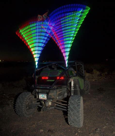 lighted whips for rzr led whip 1 20 colors in whip atv utv flag lightwerx