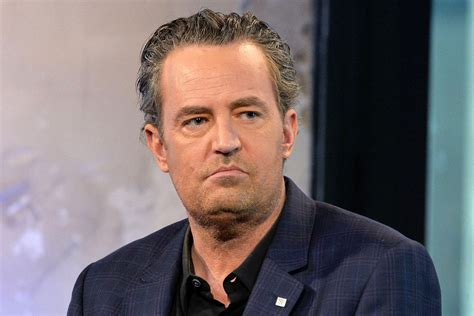 matthew perry reveals  month hospital stint page
