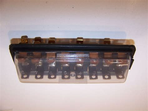 1973 Fuse Box by Fuse Box With Cover 8 Row Vw Beetle 1960 1966 T2 Split