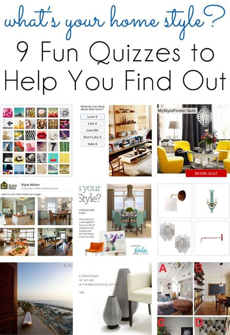 {style inspiration} 9 Fun Quizzes to Find Your Home Design
