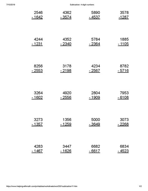 Multiplication is nothing but repeated addition. Best 4th Grade Math Worksheet - You Calendars