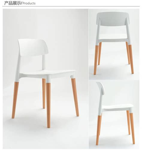 aliexpress buy wood plastic chair wood dining
