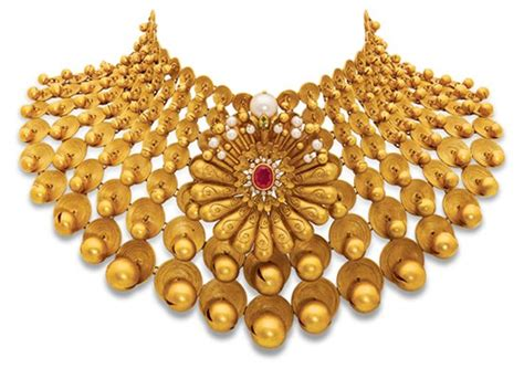 contemporary handmade gold jewellery design polki