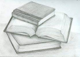stack of books pencil drawing - Google Search | Still Life ...