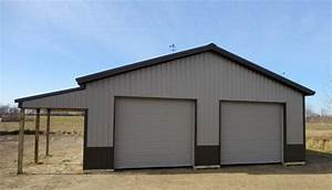 pole barn garage with lean lean to pictures building With 36x40 pole barn