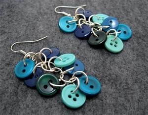 12 DIY Button Crafts: Jewelry Ideas DIY and Crafts