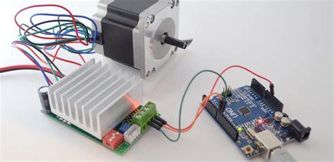 Wiring Running Stepper Driver With Arduino