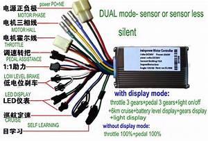 2019 24v36v48v250w350w Controller Ed Display 810 Control