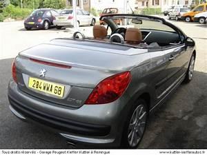 Peugeot 207 Cc Occasion : peugeot 207 occasion 2007 ~ Gottalentnigeria.com Avis de Voitures
