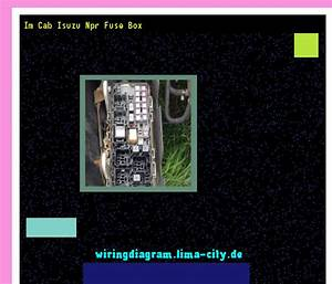 Im Cab Isuzu Npr Fuse Box  Wiring Diagram 175655