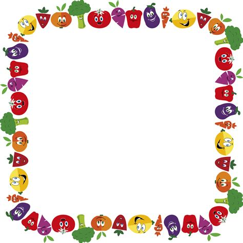 Clip Cornici by 14 Cliparts For Free Frames Clipart Vegetable