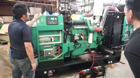 cummins generator set kva introduction testing hd