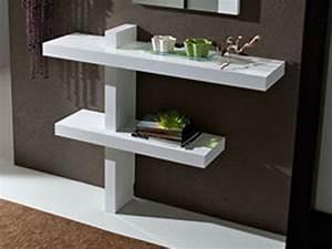 Console D Entrée Blanche : meuble entr e ~ Voncanada.com Idées de Décoration