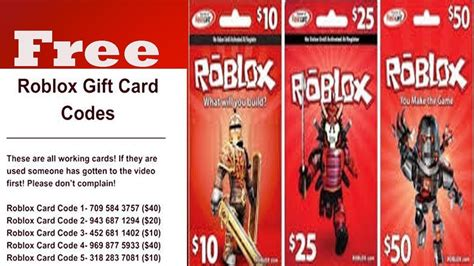 roblox gift card codes    roblox