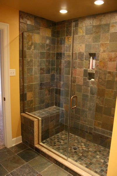 shower seat recessed areas master bed  bath