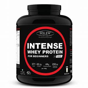 Buy Sinew Nutrition Intense Whey Protein For Beginners Butterscotch  3kg  Online In India