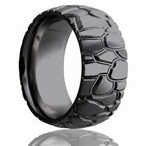 Zirconium | Heavy Stone Rings