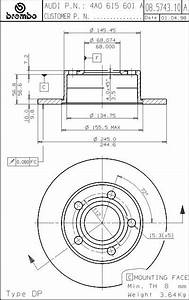 Orthographic  Blueprint  Diagrams Of The 250