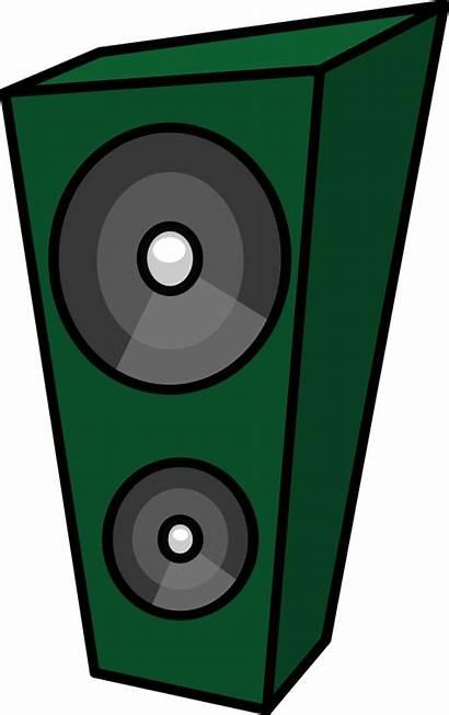 Speaker Cartoon Clipart Sound Box Vector Clip
