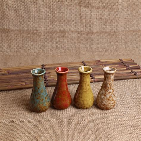 Cheap Small Glass Vases by The Ceramic Kiln Four Colors Small Vase Hydroponic