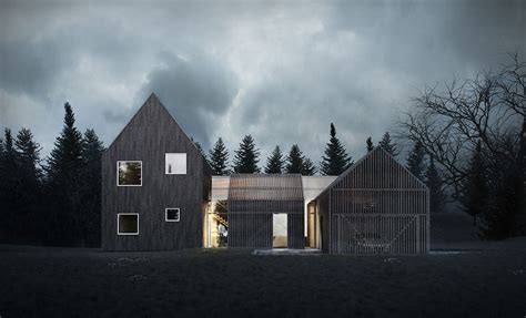 scandanavian architecture sophisticated minimalist house in denmark lets you enjoy the outdoors even in the winter sbh01