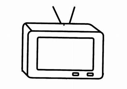 Colorear Dibujos Televisor Dibujar Televisores Imagenes Television