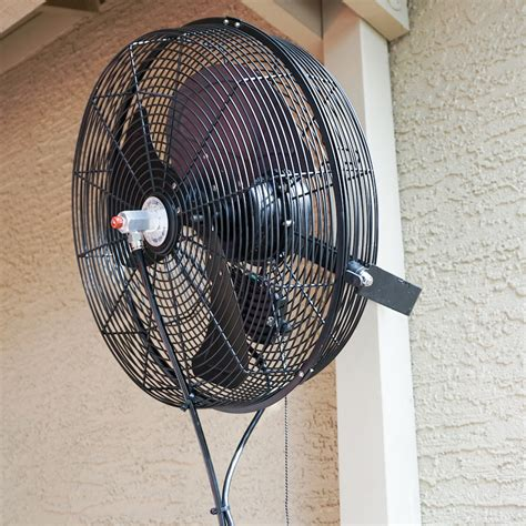 cool  misting fans  outdoor cooling fans