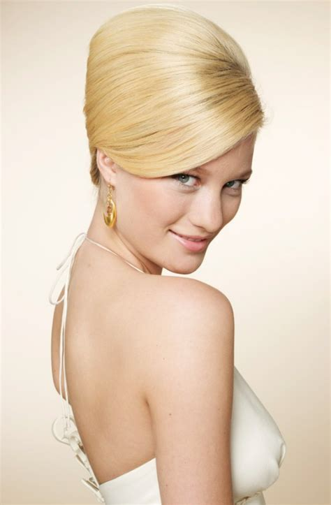 inspired beehive wedding hairstyle   touch