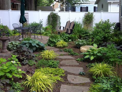 low maintenance front yard design simple landscaping ideas around house garden and patio narrow side yard design with no grass