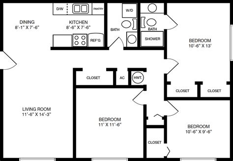 bathroom floor plans with washer and dryer floorplans 171 cove