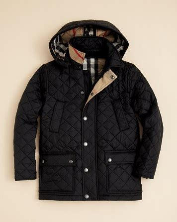 Burberry Boys Charlie Quilted Jacket S