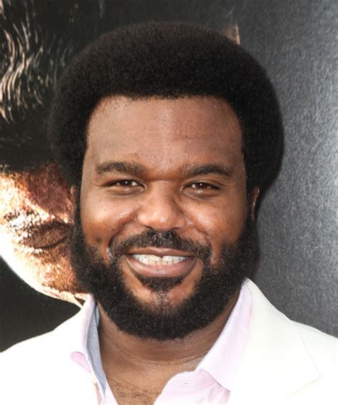 craig robinson casual short curly afro hairstyle black