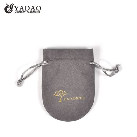 jewelry pouch suede velvet pouch