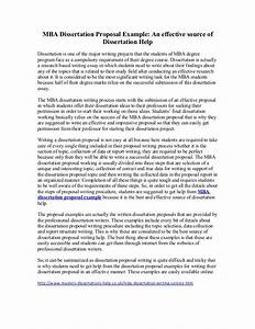 sample dissertation papers
