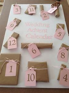 Wedding advent calendar cute little presents for the 12 for Groom gifts for bride on wedding day