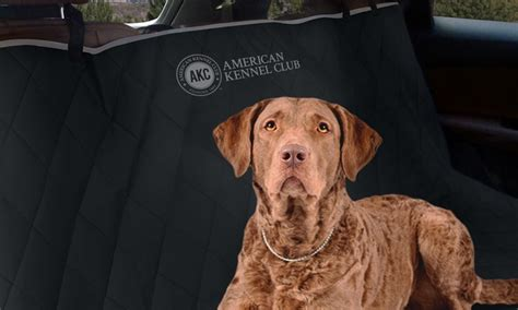American Kennel Club Quilted Car Seat Cover Groupon