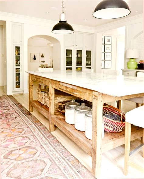 farmhouse kitchen island 39 kitchen island ideas with storage digsdigs 3702