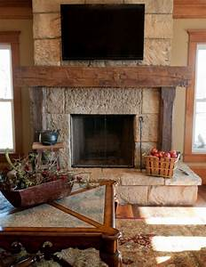 reclaimed barn beam fireplace mantels rustic fireplace With barnwood mantel ideas