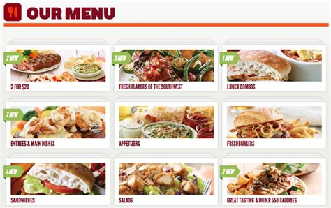 applebee s light menu the engineering of the chain restaurant menu moa