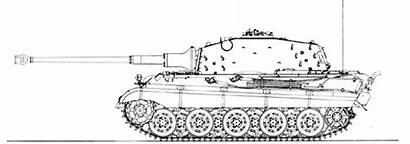 Tiger Ii Clipart Drawings King Clip Pzkpfw