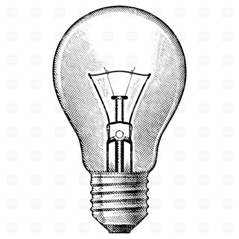 vintage light bulb drawing google search tattoos